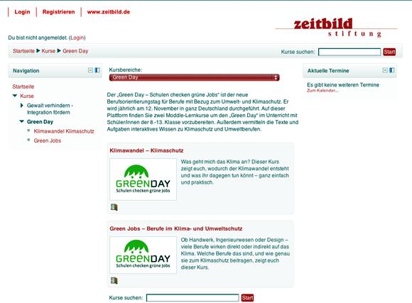 Green Day Umweltberufe Klimaschutz Unterrichtsmaterialien