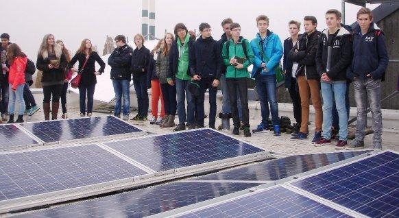 Solaranlagenbesichtigung Green Day